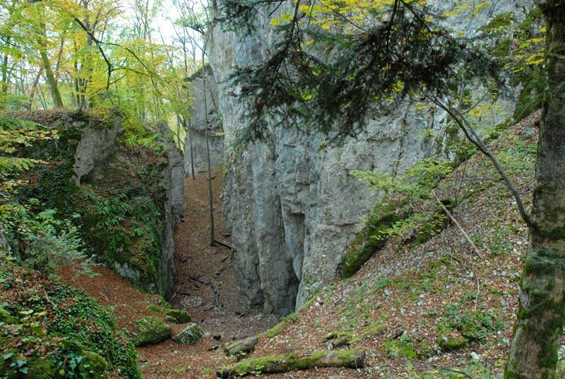 La grotte des nains de Ferrette