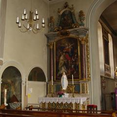 Pfarrkirche Folgensbourg - © OT Sundgau
