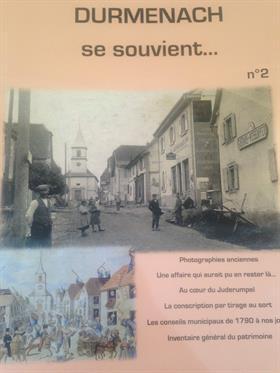 Livre de la Société d'Histoire pour la Transmission de la Mémoire de Durmenach