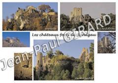 Carte postale des Trois Chateaux