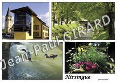 Carte postale d'Hirsingue