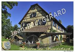 Carte postale Moulin