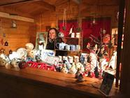 Céramiste au marché de Noël d'Altkirch