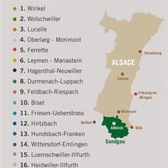 - © Liste des circuits pédestres du Sundgau