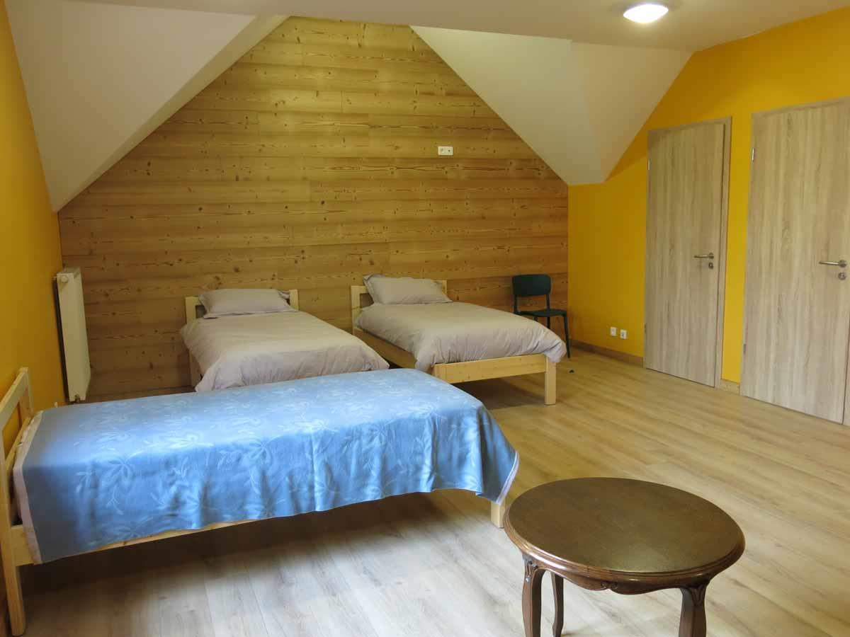 Les chambres la Maison à côté : dortoir Quentin