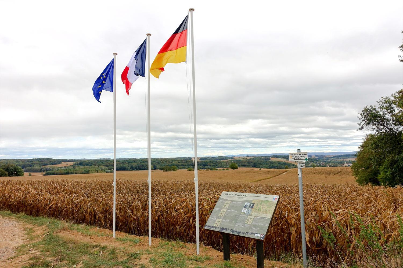 Le chemin de mémoire des combats du 19 août 1914