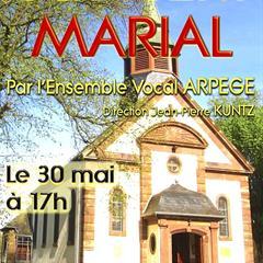 Concert Marial à la chapelle Notre Dame de Grunenwald UEBERSTRASS