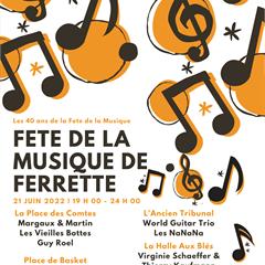 Fête de la Musique avec entre-autres  l'Ensemble Double Face - © Mairie de Ferrette