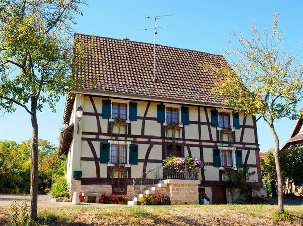 Half-timbered house Hirtzbach (1)