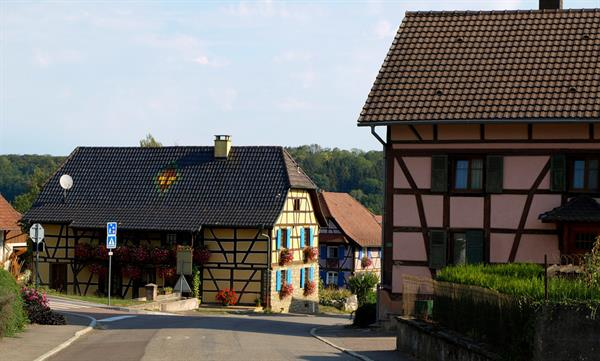 Friesen half-timbered house (1)