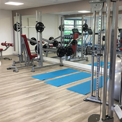 L'Instant fitness area