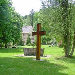 Park of the old Cistercian abbey
