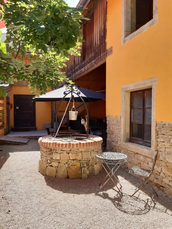 Backyard entrance