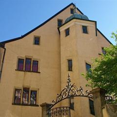 Atelier d'impression sur étoffes au Musée Sundgauvien d'Altkirch - © Office de Tourisme du Sundgau