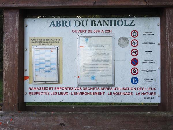 Hirsingue Banholz shelter