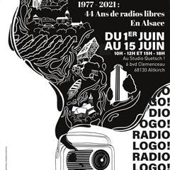 Exposition : 1977-2021 : 44 ans de radios libres en Alsace - © Radio Quetsche