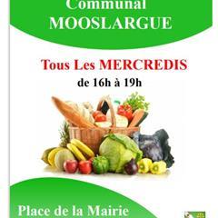 Marché Communal hebdomadaire - © Mairie Mooslargue
