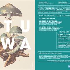 Programme inaugurations des œuvres STUWA - © STUWA