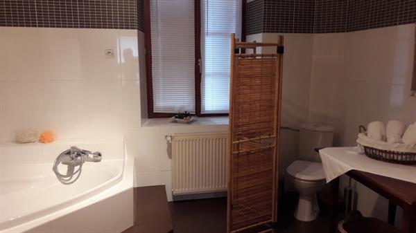Salle de bain avec baignoire et douche - Régine