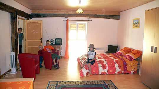 La chambre d'hôtes chez M. Fritsch