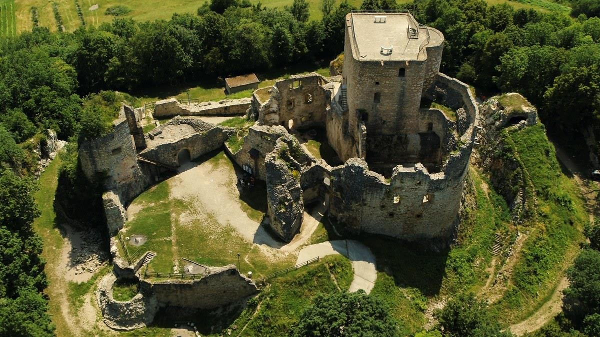 Circuit découverte du château du Landskron