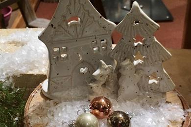 Nativity scene exhibition - Graessel Pottery