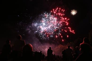 Cancellation - Fireworks and popular ball