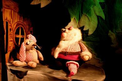 Poppenkast Wie dat, ik ... de kerstman?