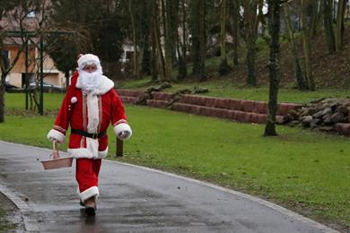 Flâneries théâtralisées : Noël jusqu'au bout du monde