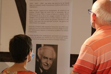 """Visite guidée de l'exposition """"Claude Vigée, une vie entre les lignes"""""""