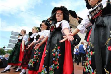 Bischwiller On Air Festival: Volkskunstensemble Haguenau, Folkloreshow