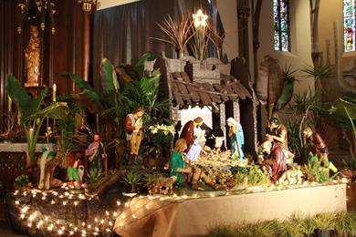 Visite libre des crèches de la paroisse Saint-Augustin