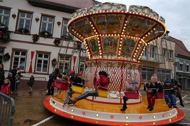 Belle-epoque merry-go-round