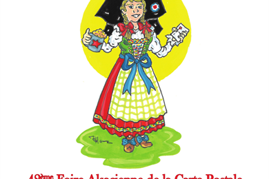 42nd Alsatian Postcard Fair and Collectors Fair in Pfaffenhoffen