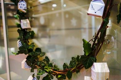 Atelier de Noël : fabriquez votre couronne calendrier de l'Avent en duo