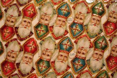 Kersttentoonstelling en afbeeldingen