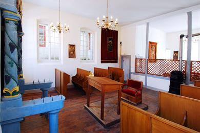 Self-guided tour of the Pfaffenhoffen Synagogue during European Heritage Days 2021