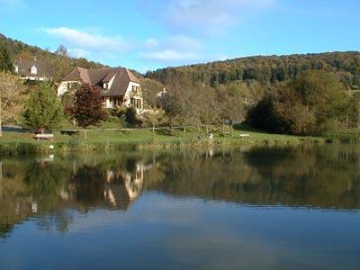 Upper Sundgau fishing pond