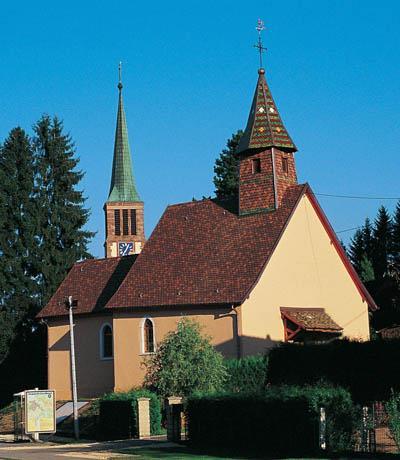 La chapelle Sainte Croix