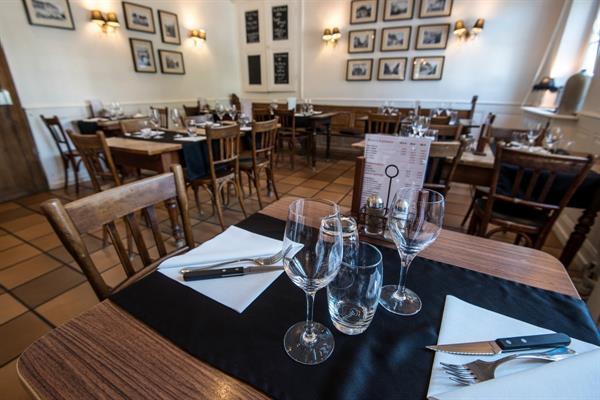 L'intérieur de la Trattoria - Les restaurants du Ried