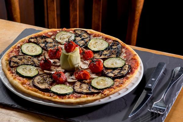 Pizza aux légumes du soleil - Les restaurants du Ried