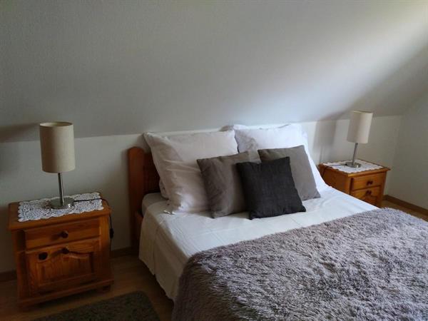 Chambre avec lit double - Gite de France