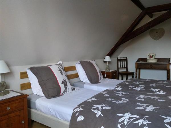 Chambre 2 lits 1 personne - Gite de France