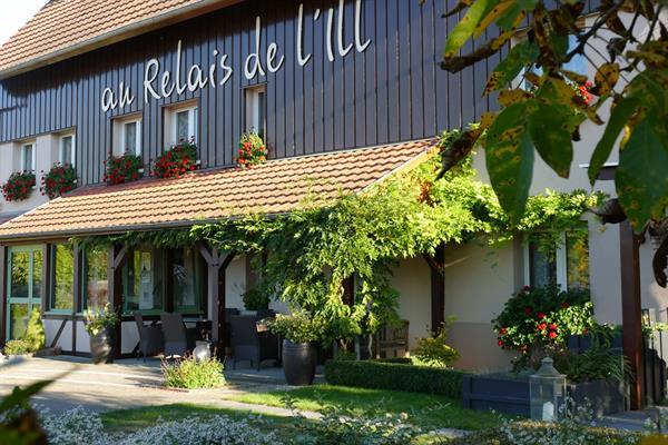 © Hôtel Au Relais de l'Ill