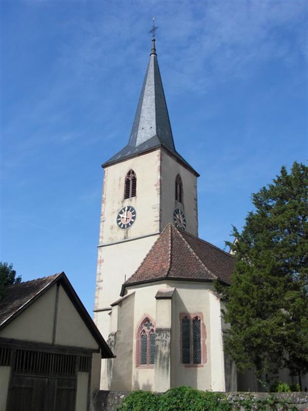 Vue extérieure de l'église