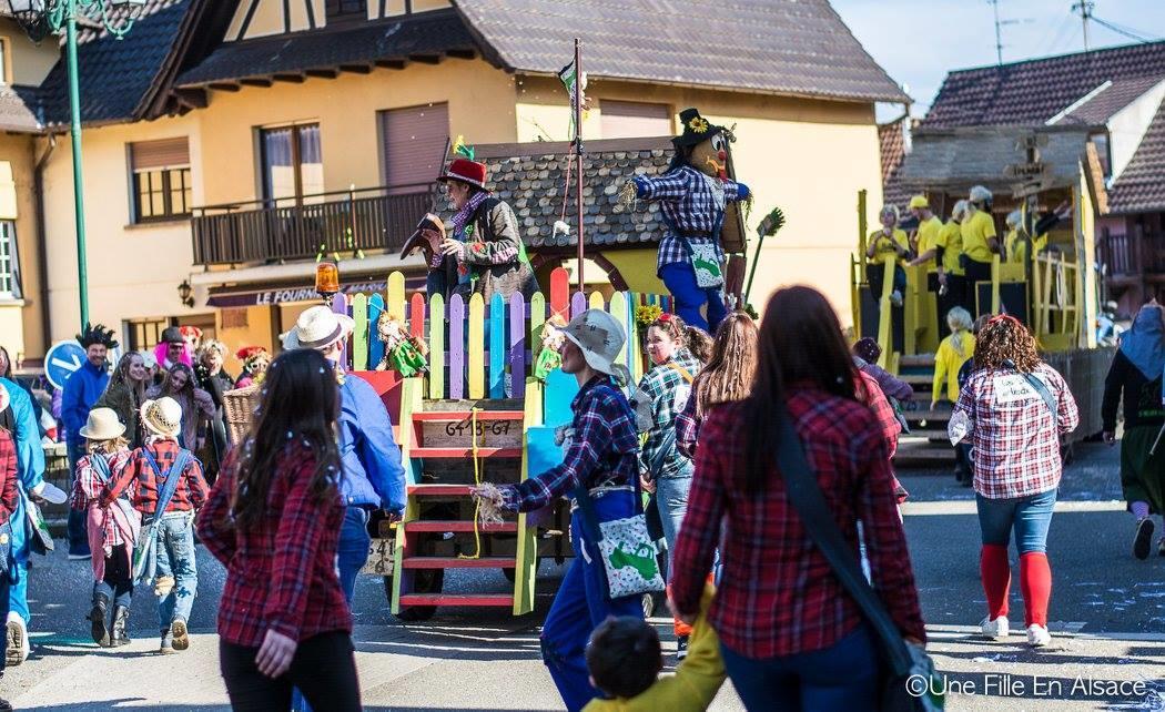 une fille en Alsace