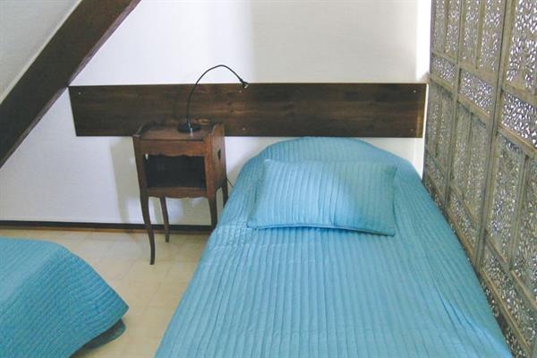 Couchage mezzanine, 2 lits simples - -