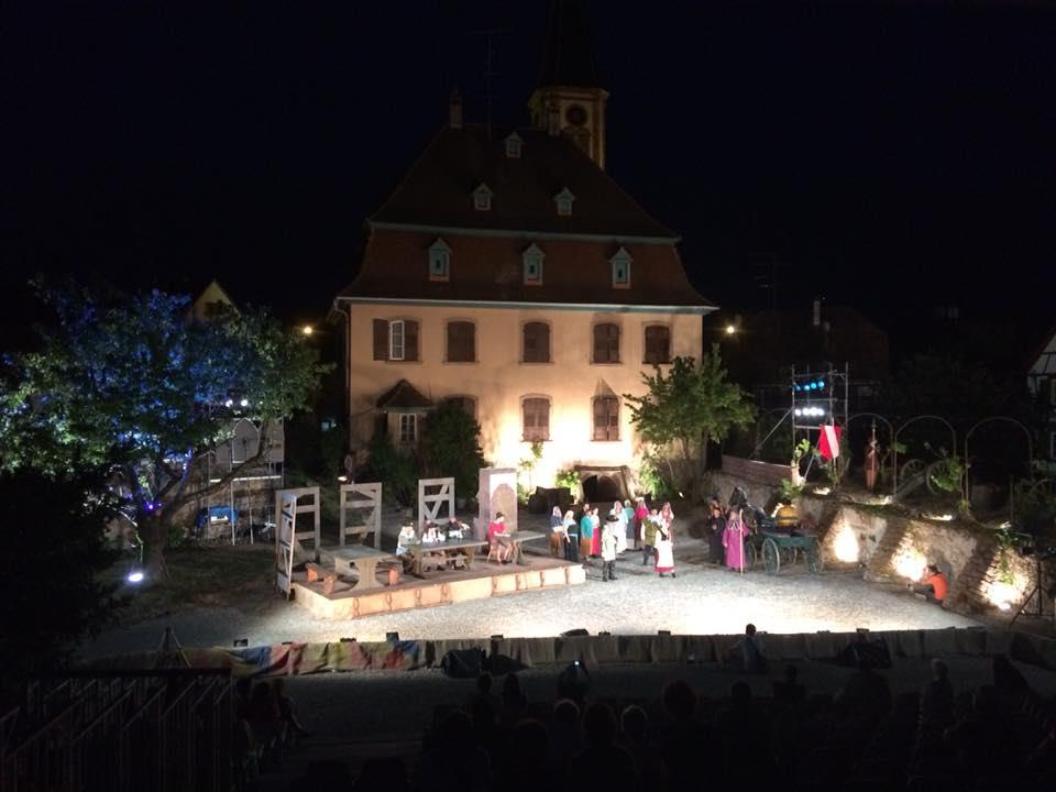 Stubbehansel festival : Sound and light show
