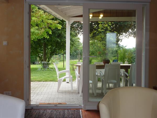 séjour ouvert sur terrasse - © D. Spatz