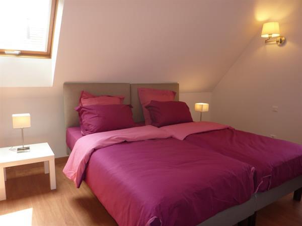 chambre rose à l'étage - © D. Spatz